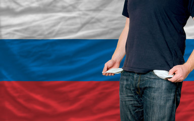 recession impact on young man and society in russia