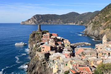 Vernazza in Cinque Terre, unesco world heritage, Italy