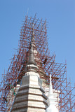 pagoda in bluesky background