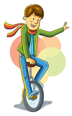 Unicycle Boy