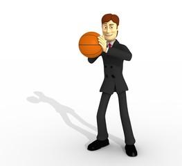 personaje y basket