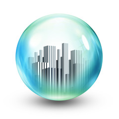 glass ball towers
