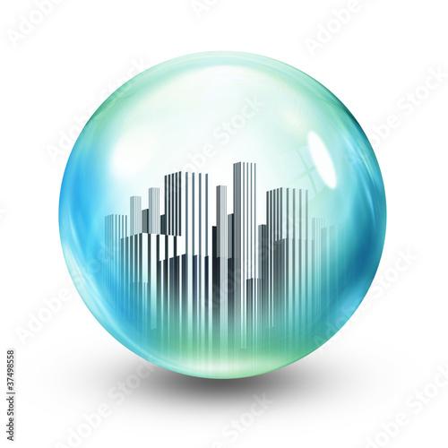 glass ball towers