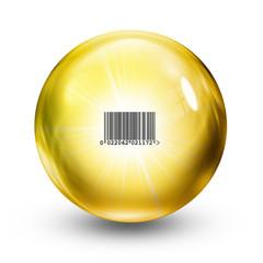 retail glass ball