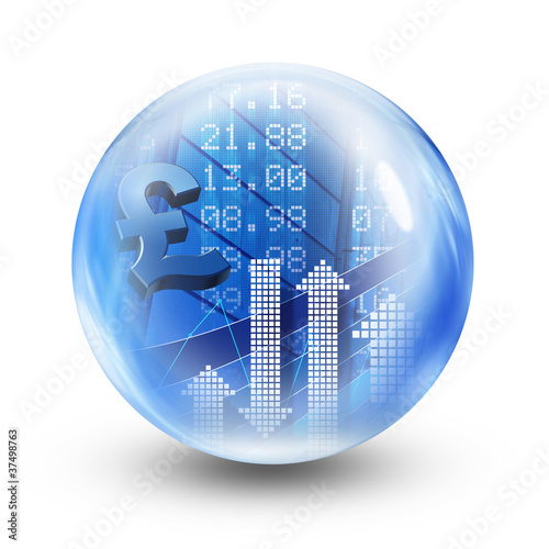 stock exchange glass ball