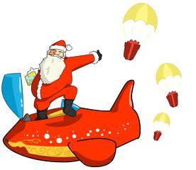Santa Claus Airplane