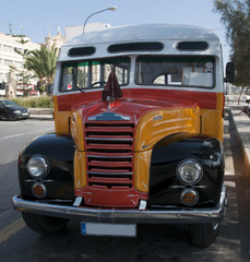 original old bus on Malta