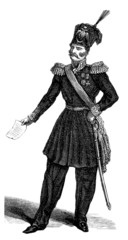 Russian Officer 19th