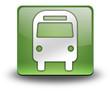 "Green 3D Effect Icon ""Bus / Ground Transportation"""