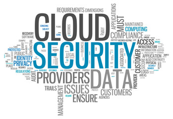 "Word Cloud ""Cloud Security"""
