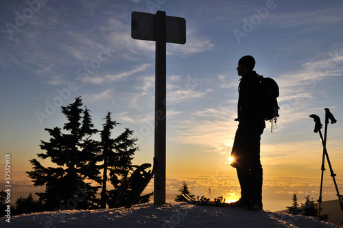 Grouse Mountain Sunset