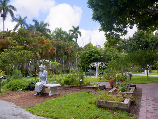Garden of Thomas Edison in Fort Myers Florida USA