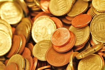 Euro - Cent Münzen