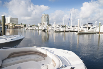 Marina Fort Lauderdale Florida USA