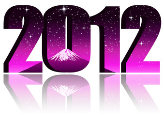 2012 with fuji mt. background