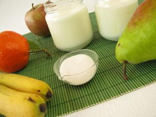 Probiotika und Joghurt
