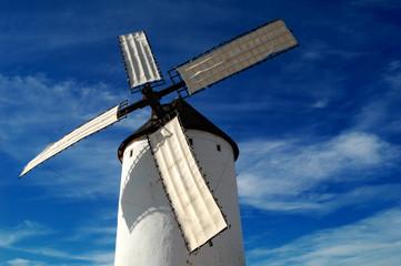 Historical Spanish windmill
