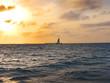 Sunset over Key West Florida USA