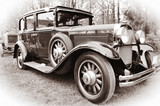 Old American car - 37521116