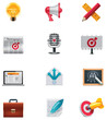 Vector marketing icon set