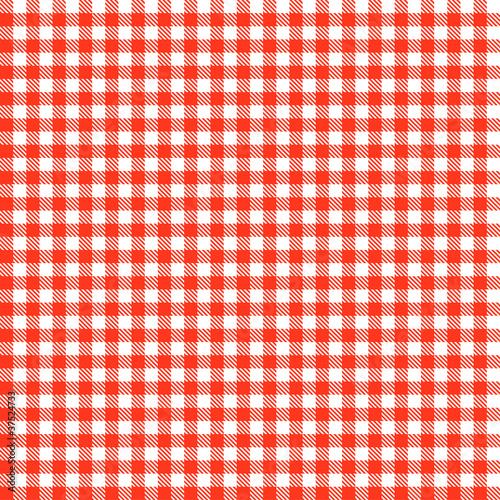 Karo Tischdecken Muster ROT - endlos