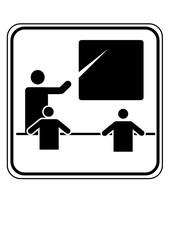 Piktogramm Schule