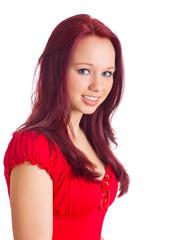 Bewerbungsbild eines jungen Mädchens