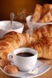 caffè, croissant e amaretti - uno