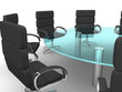3d round conference room