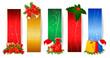 Set of  christmas banners. Vector illustration.