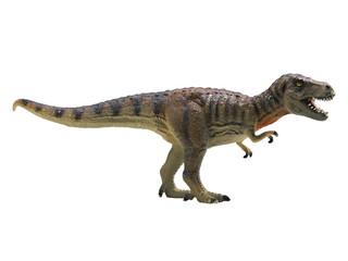 tyrannosaurus-rex isolated on white background