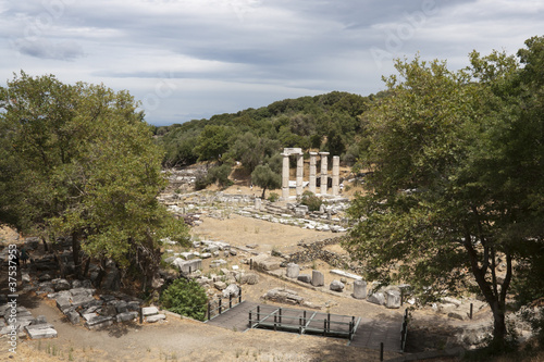 Sanctuary of the Great Gods - Samothraki, Greece