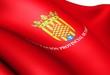 Flag of Tarragona, Spain.