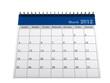 Calendar March 2012