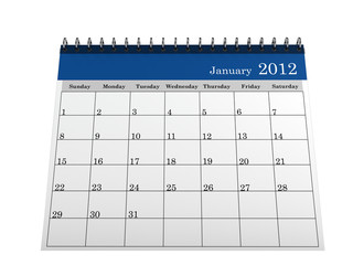 Calendar January 2012