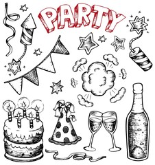 Party drawings collection 1