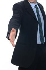 Business handshake -Stretta di mano di lavoro