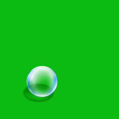 bubble green square