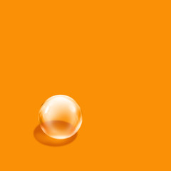 bubble orange square