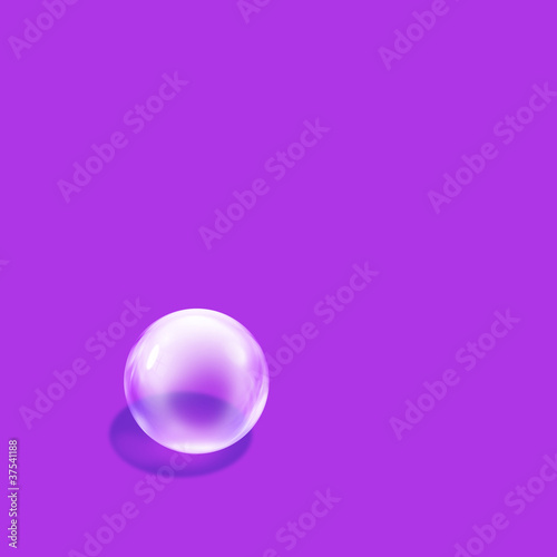 bubble purple square