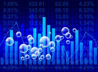 bubbling stock market