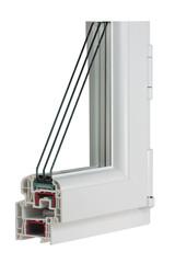 Sample PVC window