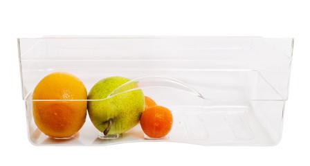 Fruits ina box.