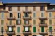 Häuser am Placa Major, Mallorca