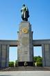 The soviet war memorial in Berlin