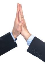 Battere un cinque con le mani
