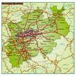 Bundesland Nordrhein Wesfalen und Umgebung
