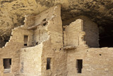 Native american cliff dwelling poster