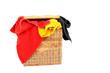 Wäschekorb mit Handtüchern