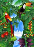 Beauiful tropical background - 37549598